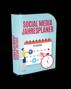 social media jahres planer